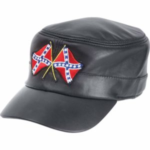 Be A Rebel™ Solid Genuine Leather Cap