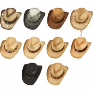 Casual Outfitters™ 10pc Cowboy Hat Set