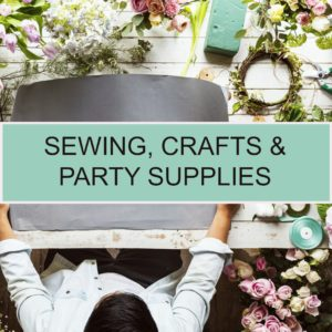 Sewing, Crafts & Party Supplies