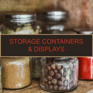 Storage, Containers & Displays