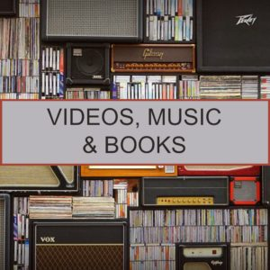 Videos, Music & Books