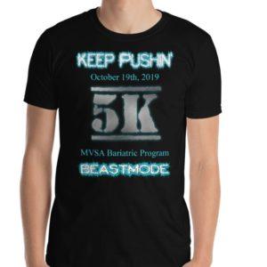 MVSA 5K Run / Walk T-shirt -*** SHIPS FREE! ***