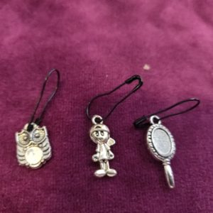 Zipper Pull 13 clips, charm for all ages and styles! Selling in sets!