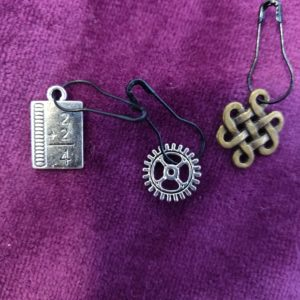 Zipper Pull 8 clips, charm for all ages and styles! Selling in sets!
