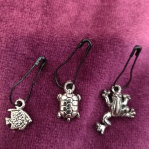 Zipper Pull 9 clips, charm for all ages and styles! Selling in sets!